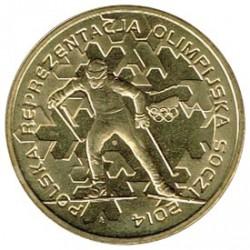 Polonia 2014 2 Zlotys (JJ.OO Sochy) S/C
