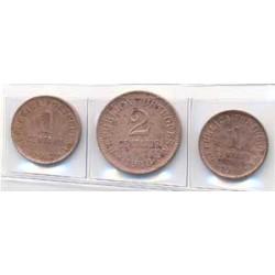 Portugal 1917 - 1918 (2 de 1 centavo. 2 Centavos) S/C-
