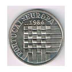 Portugal 1986 25 Escudos (C.E.E.) S/C