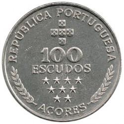 Portugal 1980 100 Escudos (Región Autónoma de las Azores) EBC