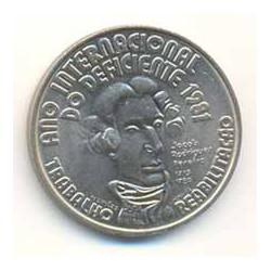 Portugal 1981 100 Escudos (Año Internacional Deficiente) S/C