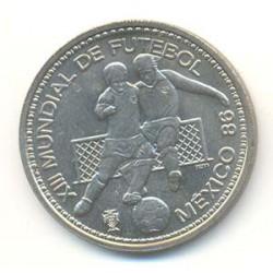 Portugal 1986 100 Escudos (Mundial Méjico 86) S/C