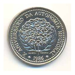 Portugal 1986 100 Escudos (Autonomía Regional Azores) S/C