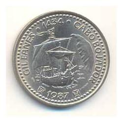 Portugal 1987 100 Escudos (Gil Eanes) S/C-