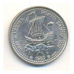 Portugal 1989 100 Escudos (Madeira Porto Santo) S/C