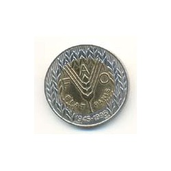 Portugal 1995 100 Escudos Bimetálica (50 Aniv. de la FAO) S/C