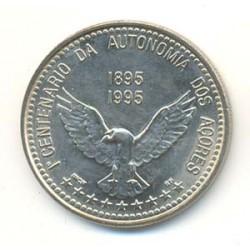Portugal 1995 100 Escudos (1º Centenario Autonomía de las Azores) S/C