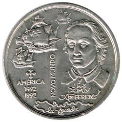 Portugal 1992 200 Escudos (Nuevo Mundo) S/C-