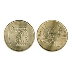 Rusia 2013 2 de 10 Rublos. (Juegos Colegiales. Kazan) S/C
