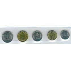 Transnistria 2000 - 2005 5 valores (1,5,10,25 y 50 Kopeek) S/C