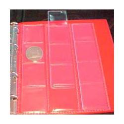 Hojas BBB 12 espacios para álbum monedas pequeño