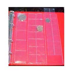 Hojas BBB mixtas álbum monedas pequeño