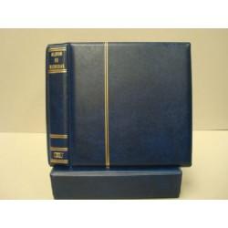 BBB Álbum de monedas azul (sin hojas)