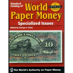 Krause Billetes Catálogo Billetes del mundo (Volumen I) 10ª Edición. Billetes Especializados
