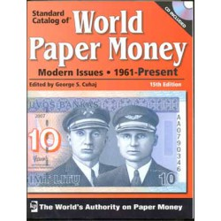 Krause Billetes Catálogo Billetes del mundo 1961-2009. Volumen III. 15ª Edición.