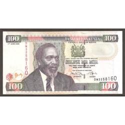 Kenia 100 Shilingi PK 48d (17-6-2.009) S/C