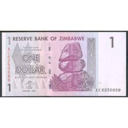 Zimbabwe 1 Dólar PK 65 (2.007) S/C