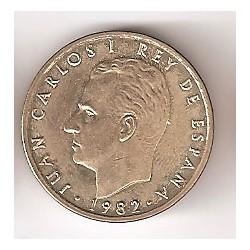 100 Pesetas 1982 reverso S/C