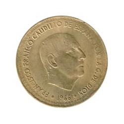 1 Pta Cospel más fino 1966 Sin estrella visible MBC-