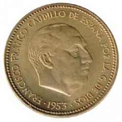 2´50 Ptas 1953 * 54 EBC+