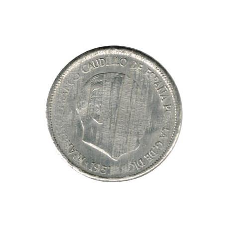 5 Ptas Cospel más fino 1957 S/C-