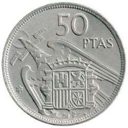 50 Ptas Empastada 1957 * 58 EBC