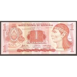 Honduras 1 Lempira PK 89b (6-5-2.010) S/C