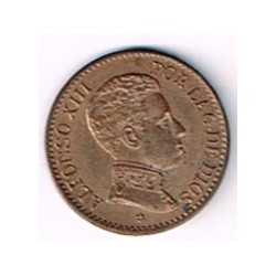 1 Ctm Alfonso XIII 1906 * 6 S/C