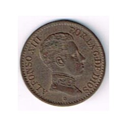 1 Ctm Alfonso XIII 1906 * 6 EBC