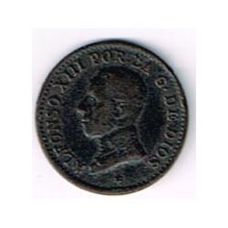 1 Ctm Alfonso XIII Sin fecha en la estrella 1912 * 2 MBC
