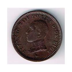 2 Ctms Alfonso XIII 1912 * 12 EBC