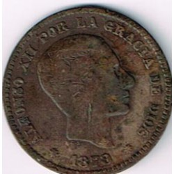 5 Ctms Alfonso XII 1878 BC