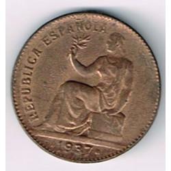 50 Ctms 2ª República 1937 Sin fecha EBC