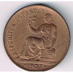 50 Ctms 2ª República 1937 * 36 MBC