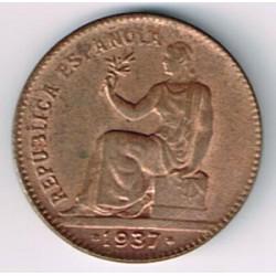 50 Ctms 2ª República 1937 * 36 BC-