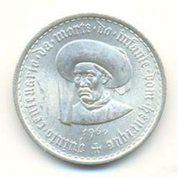 Portugal 20 escudos de plata 1960 Infante Henrique S/C