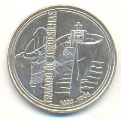 Portugal 1.000 Escudos de Plata 1994 Tratado de Tordesillas S/C