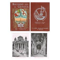 "Álbum-souvenir ""Ricordo di Genova"",Filli Lichino. EBC-"