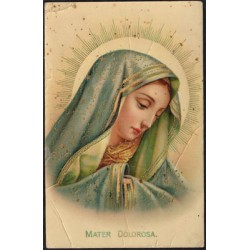 "Amag Postal color ""Mater Dolorosa"" 1915 MBC-"