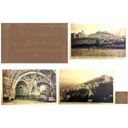 "Carnet Postal ""Ricordo di Assisi"" EBC"