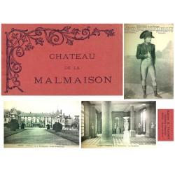 """E.Ferdet Carnet Postal """"Chateau de la Malmaison"""" EBC"""