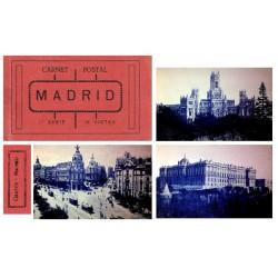 "Grafos Carnet Postal ""Madrid"" 1ª Serie EBC"