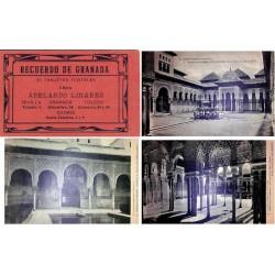 "Hauser y Menet Carnet Postal ""Recuerdo de Granada"" 1ª serie EBC"