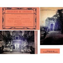 "Hauser y Menet Carnet Postal ""Recuerdo de Granada"" 2ª Serie EBC"