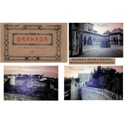 "Hauser y Menet Carnet Postal ""Granada"" 2º Serie MBC+"
