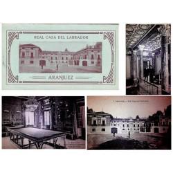 """J.Roig Carnet Postal """"Real Casa del Labrador"""" EBC"""