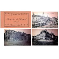 "J.Roig Carnet Postal ""Recuerdo de Madrid"" 2ª Serie S/C-"