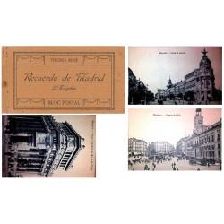 "J.Roig Carnet Postal ""Recuerdo de Madrid"" 3ª Serie S/C-"
