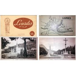 "Lévy et Neurdein Carnet Postal ""Lourdes"" Serie 1ª MBC"