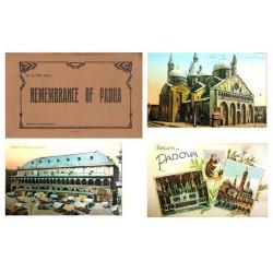"""Prosdocimi Carnet Postal """"Remembrance of Padua"""" EBC"""